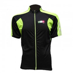 MAILLOT POTENZA ITALY PLUS  NEGRO Y VERDE