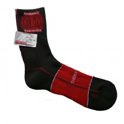 CALCETINES THERMOLITE ATB SPORT GRIS/ROJO